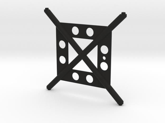 BARE BONES X-BRACE  in Black Strong & Flexible