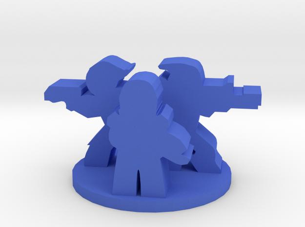 Game Piece, Mass Galaxy Squad in Blue Processed Versatile Plastic