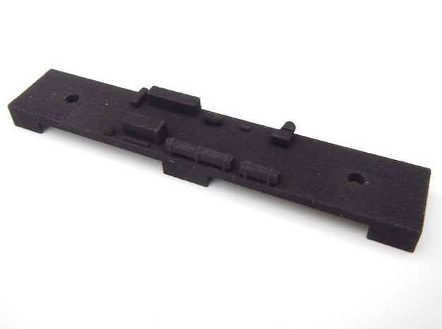 CNSM Interurban Underframe in Black Natural Versatile Plastic