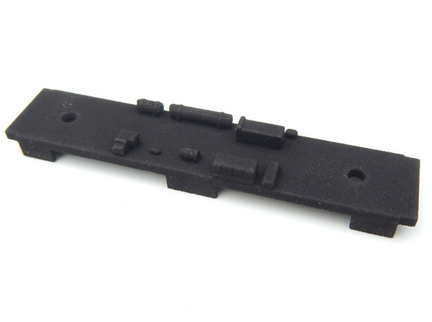 CNSM MD Underframe in Black Natural Versatile Plastic