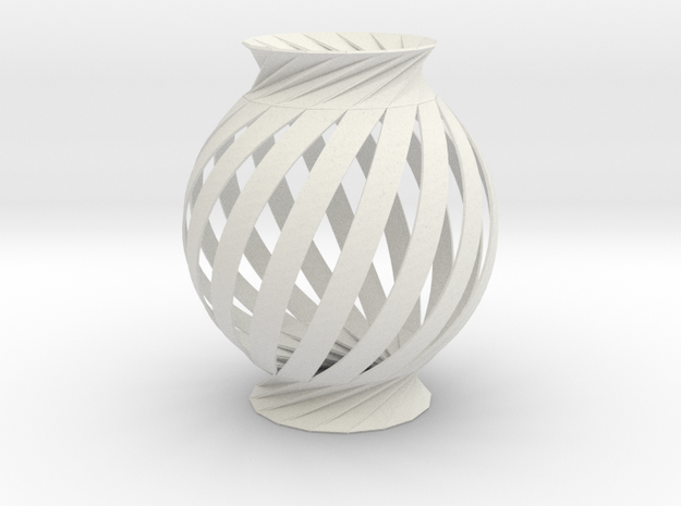Lamp Ball Twist Spiral Small Scale