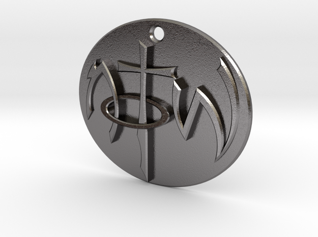 NOTW Pendant Not of This World in Polished Nickel Steel