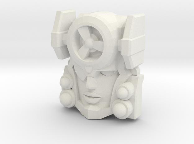 Fembot HeadWind Face (Titans Return)