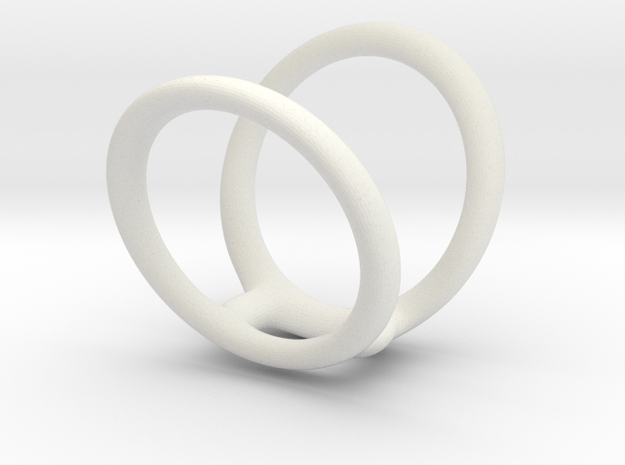 Ring splint sizes 7/5 10  in White Natural Versatile Plastic
