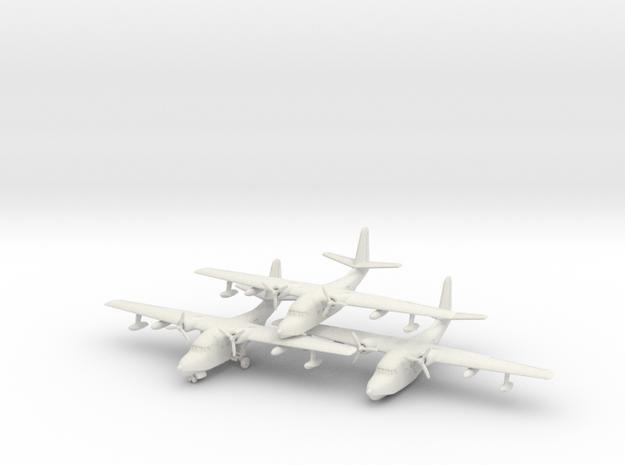 Grumman HU-16 (SA-16) Albatross (x3) 6mm 1/285 in White Natural Versatile Plastic