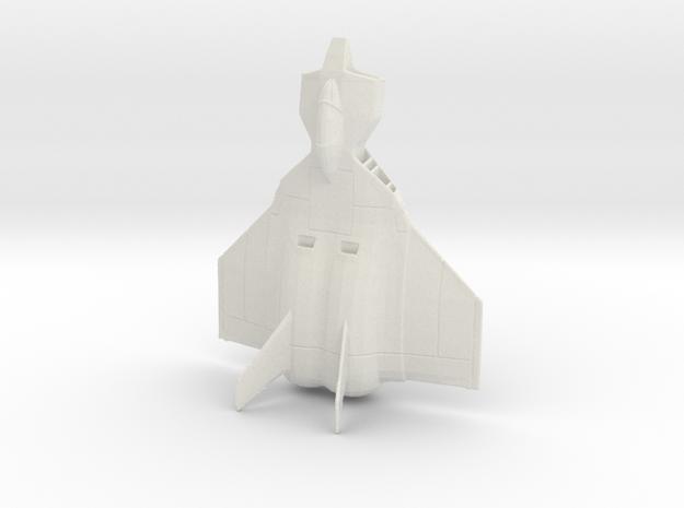 Fly Manta 1:144 in White Natural Versatile Plastic