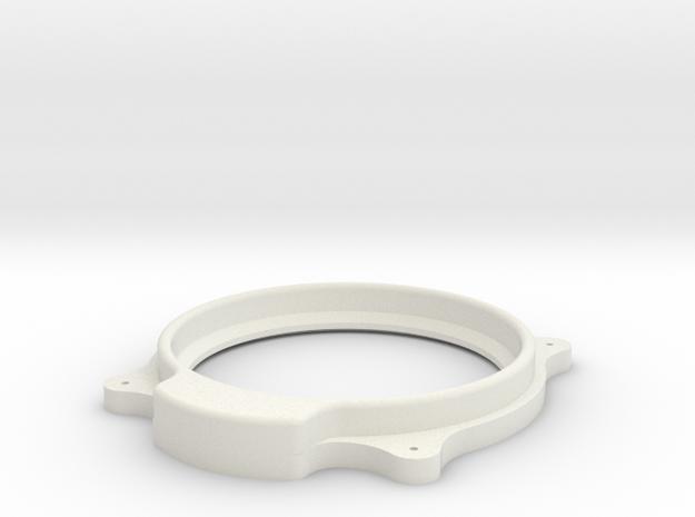 British Altimeter Bezel in White Natural Versatile Plastic