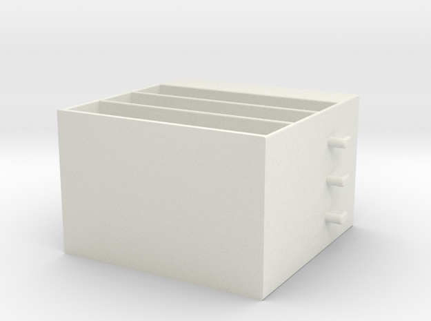Mini Cabinet in White Strong & Flexible
