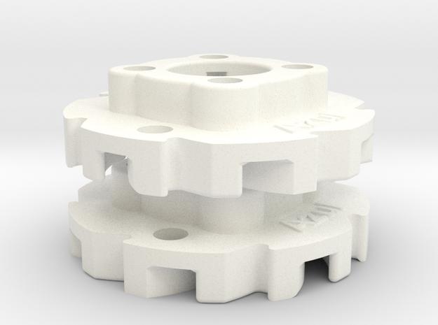 "Vex Mecanum Wheel Adapters for .77"" Profiles"