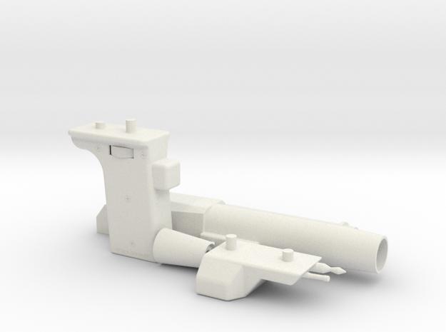 Supertrooper/Pre-Pro #1 Sling Gun Parts (no should in White Natural Versatile Plastic