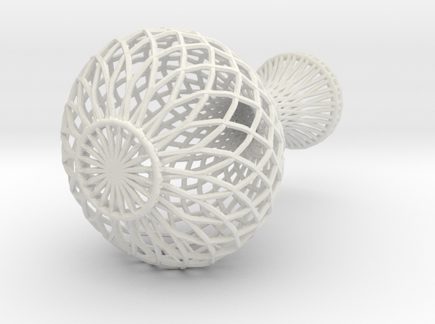 Flowerpot In Wireframe
