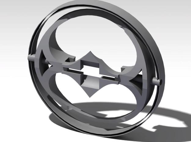 Pendant in Matte Bronze Steel