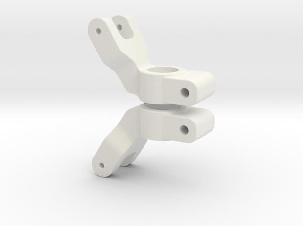 SLASH 2WD - 1 DEGREE REAR HUB CARRIER in White Natural Versatile Plastic