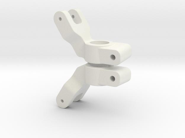 SLASH 2WD - 4 DEGREE REAR HUB CARRIER in White Natural Versatile Plastic