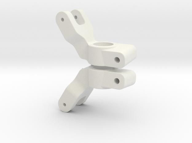 SLASH 2WD - 6 DEGREE REAR HUB CARRIER in White Natural Versatile Plastic