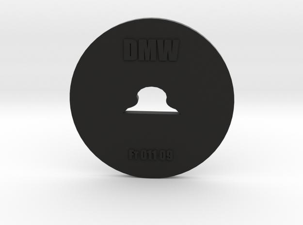 Clay Extruder Die: Footer 011 09 in Black Natural Versatile Plastic