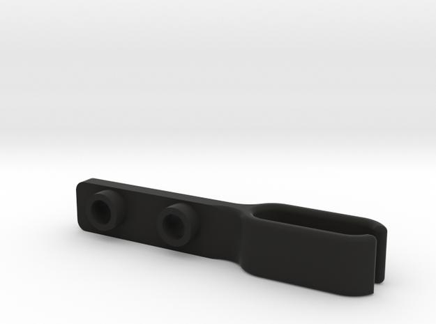 TLR 22-4  2.0 Wire Holder in Black Natural Versatile Plastic