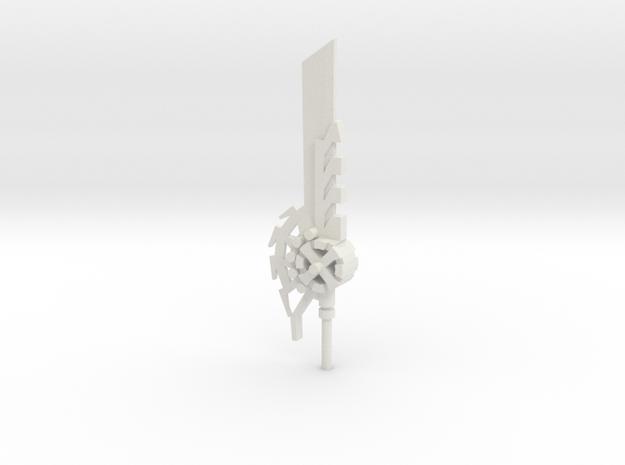 Espada Grimlock Fixed (1) in White Strong & Flexible