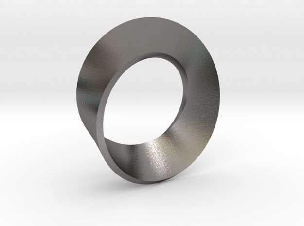 Perfect Mobius in Polished Nickel Steel: Medium