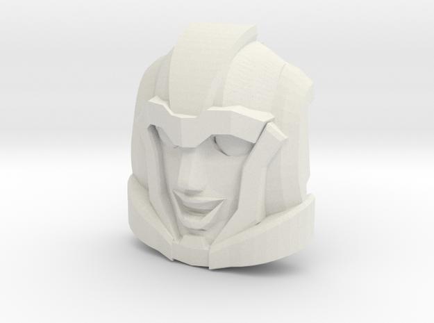 Aileron Faceplate (Titans Return-Compatible) in White Natural Versatile Plastic