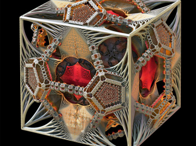 Cosmographicum Fractalium - The Ring 3d printed The original render