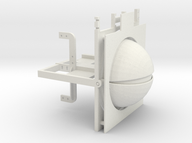 100mm EYE RIG in White Strong & Flexible