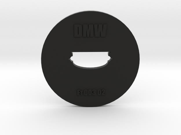 Clay Extruder Die: Footer 003 02 in Black Natural Versatile Plastic
