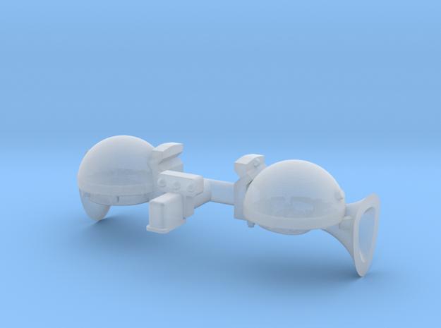 Sparton Horns 1 25 in Smoothest Fine Detail Plastic