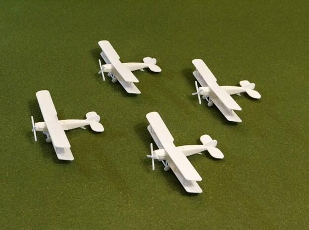"""Bristol F2b """"Flight"""" 1:144th Scale 3d printed"""