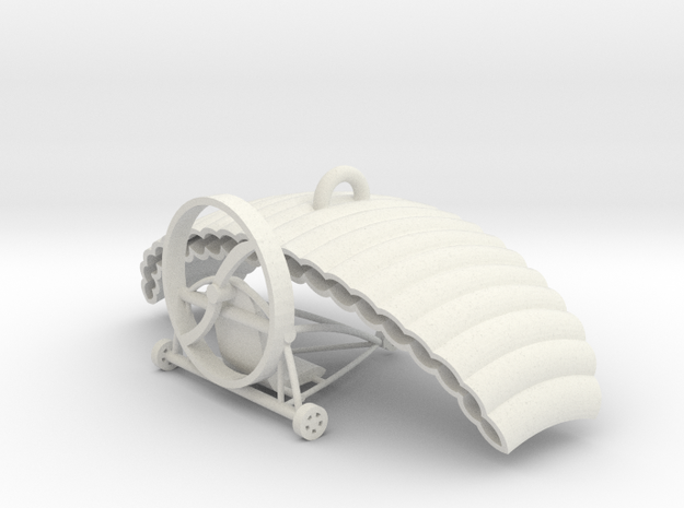 Paragliding & paratrike in White Natural Versatile Plastic