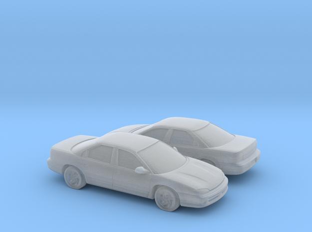 1/160 2X 1993-97 Dodge Intrepid in Smooth Fine Detail Plastic