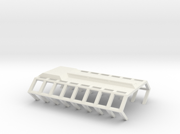 Gagarin Station Shipyard Platform in White Natural Versatile Plastic