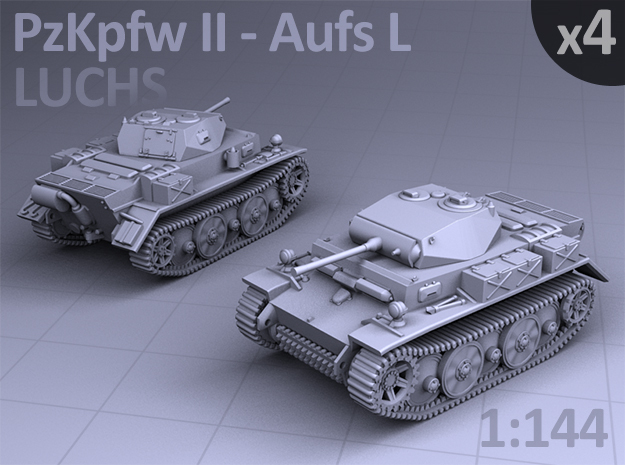 PzKpfw II ausf L - LUCHS  (4 pack)