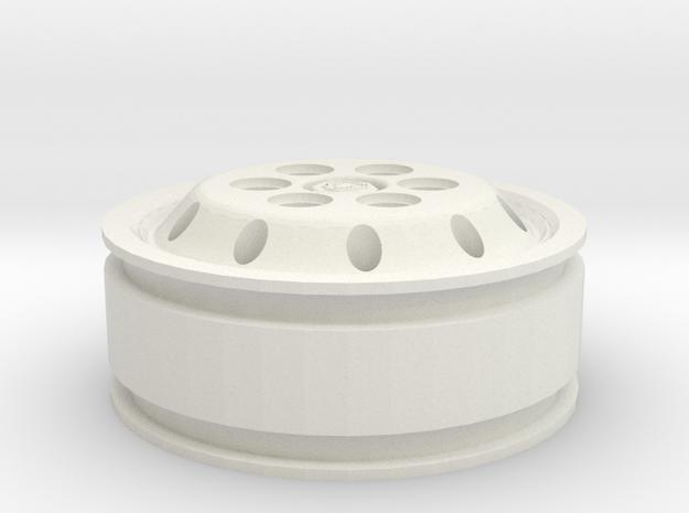 Jante Alcoa pour pneu 11.00 x 22.5 avec style Scan in White Natural Versatile Plastic
