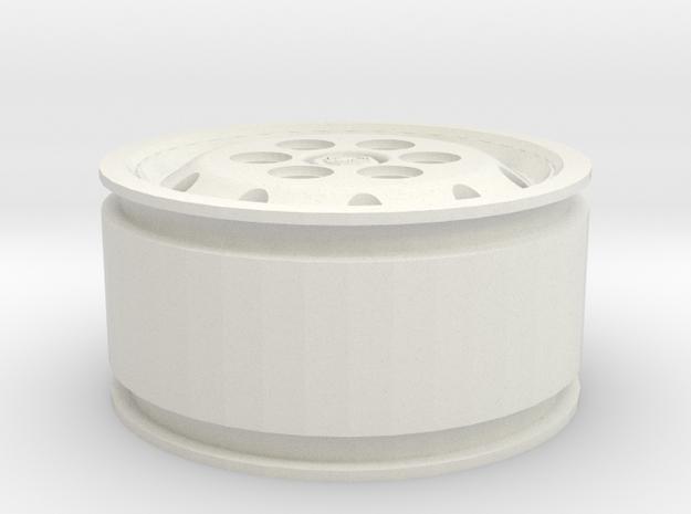 Jante Alcoa pour pneu 385 65 R22.5 Griffon gravé in White Natural Versatile Plastic