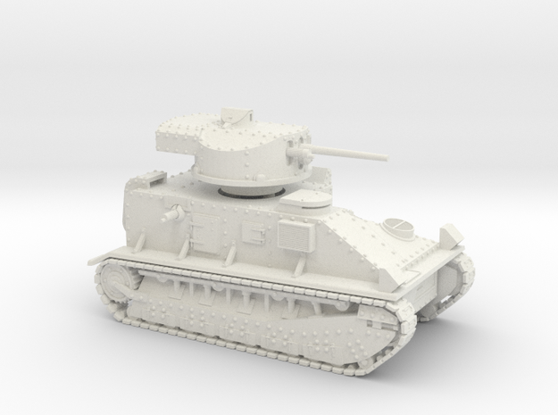 Vickers Medium MkII* (15mm) in White Strong & Flexible