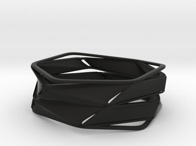 Vixen (size L) in Black Natural Versatile Plastic