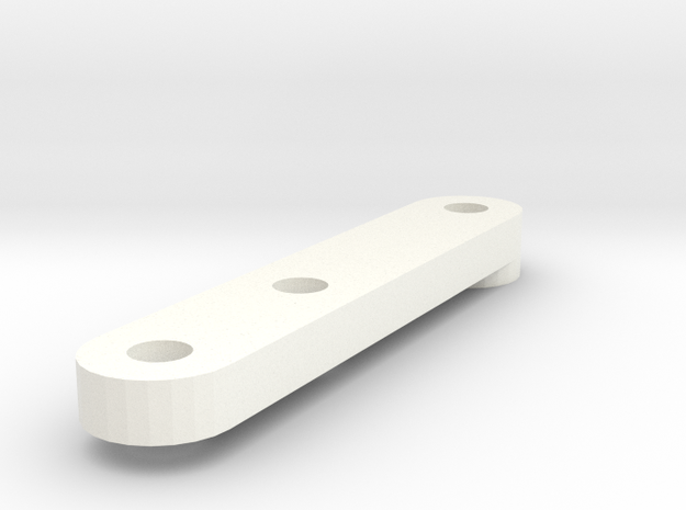 MAGracing Guide [2mm] Magnet - 2mm Hole in White Processed Versatile Plastic