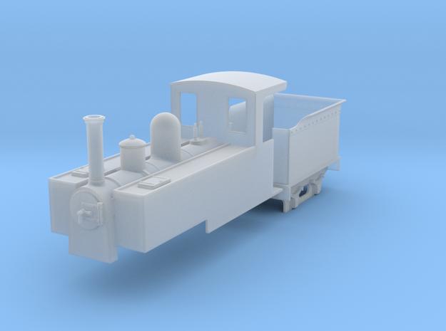 On18 tender/tank loco  3d printed