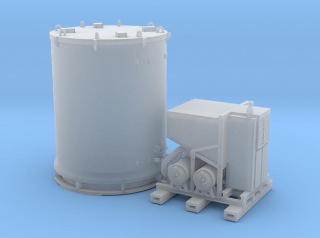 HO 1/87 Titan Rocket container & A/C unit