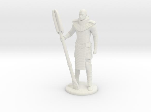 Jaffa Standing Guard -20 mm in White Natural Versatile Plastic