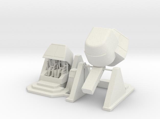 MOF X-pilot Simulator - Loading + 35-90-0 72:1 Sca in White Natural Versatile Plastic