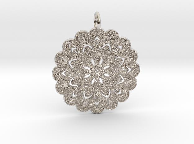 #Yezzy Pendant in Platinum