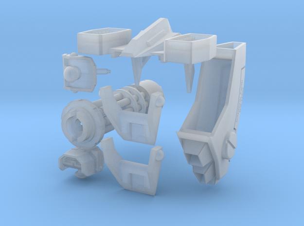 Tsunami Mech Upgrade Kit 2.0 Short Barrel in Smooth Fine Detail Plastic