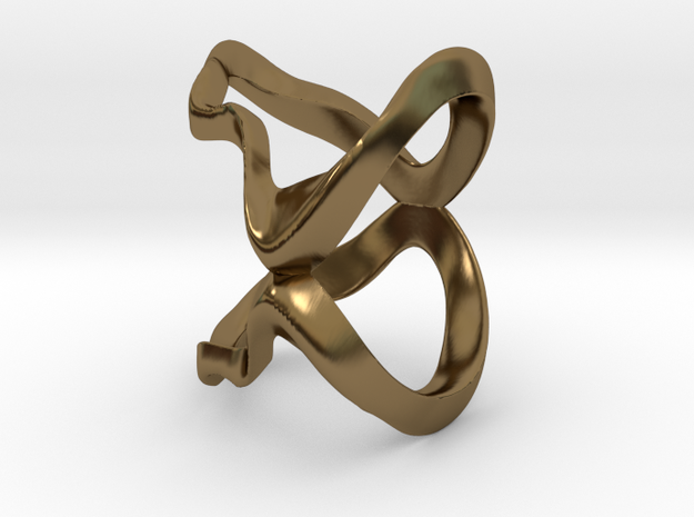 MG Ring in Polished Bronze