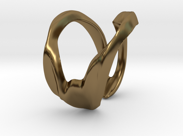 JDB Ring - One Size in Polished Bronze