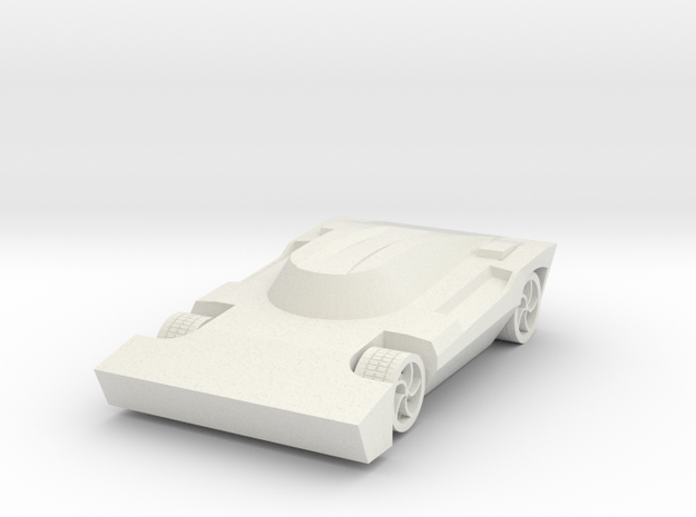 Rocket League - Breakout Car in White Natural Versatile Plastic