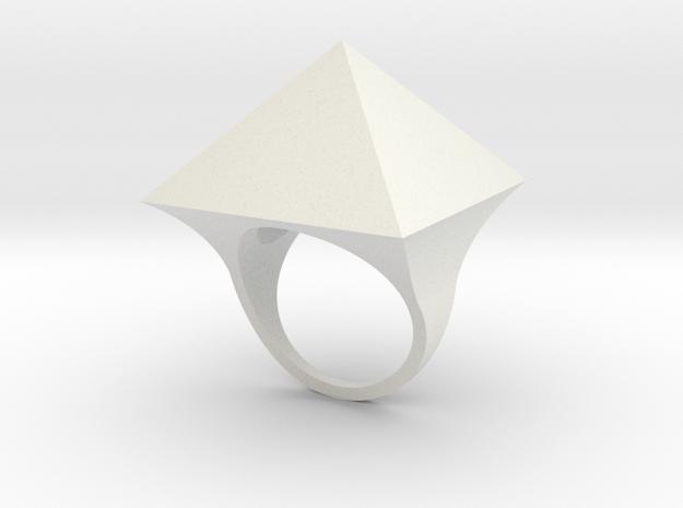 Anello Mam in White Natural Versatile Plastic
