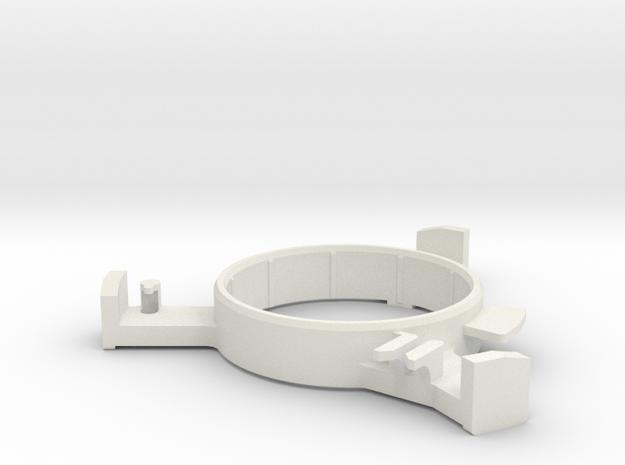 Donkey/ Buffalo-Actuator-L in White Strong & Flexible
