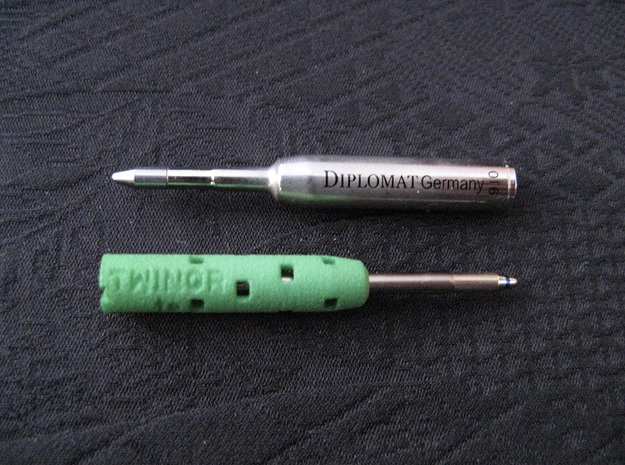 Adapter: Diplomat Twingraph To Cross Matrix in Green Processed Versatile Plastic